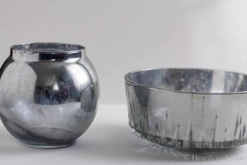 Mercury Glass Vases Diy And Easy Flower Arrangements