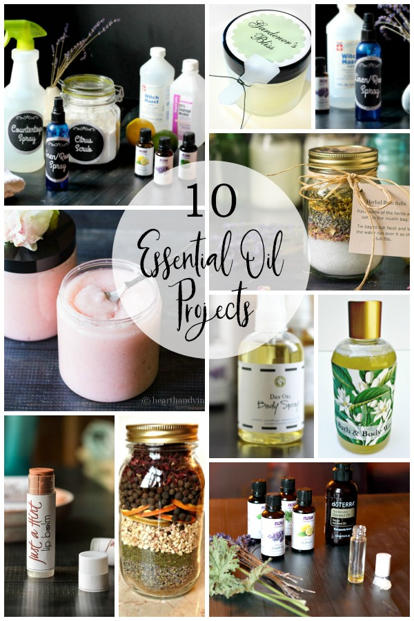 gallery of ten essential oil projects