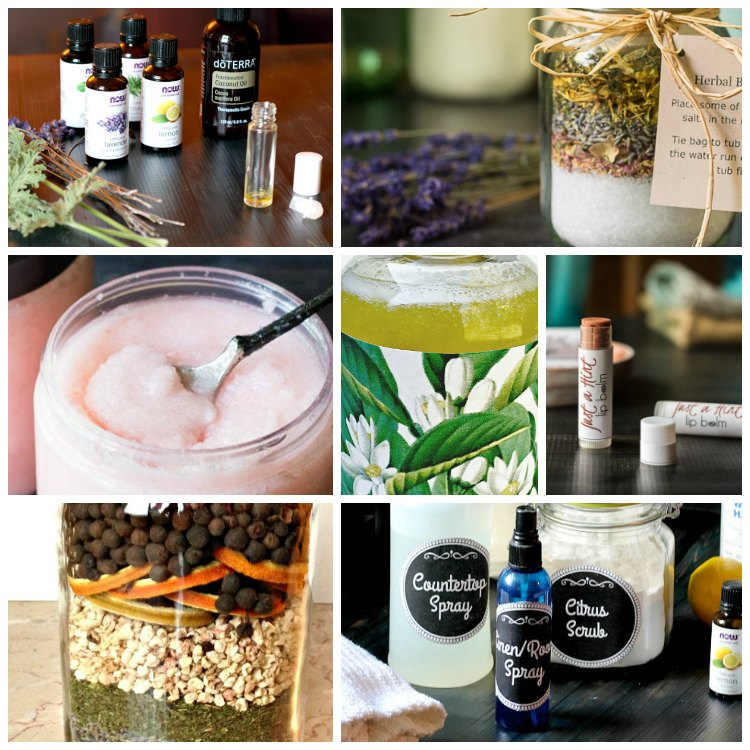Ten Essential Oil Crafts