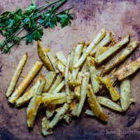 Easy Parmesan Oven Fries