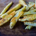 Easy Crispy Parmesan Oven Fries