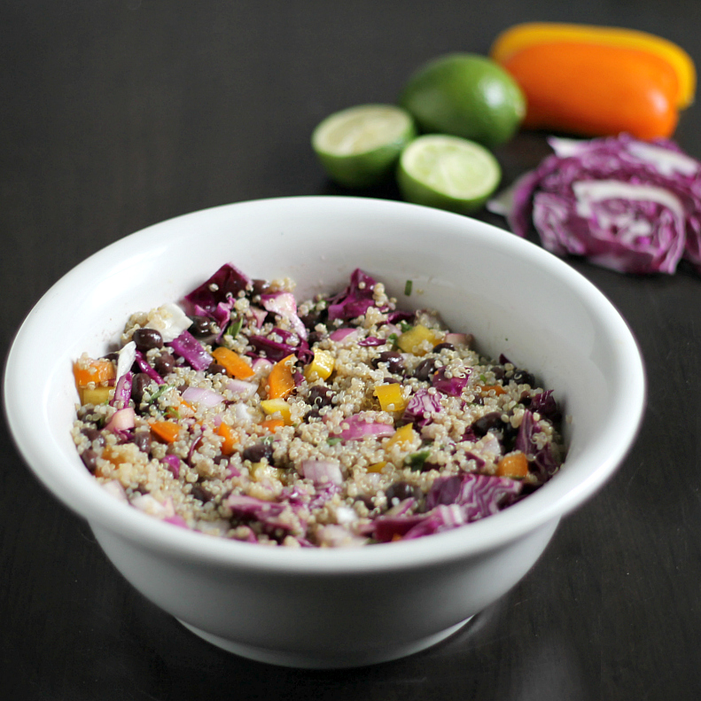 Quinoa salad in bowl