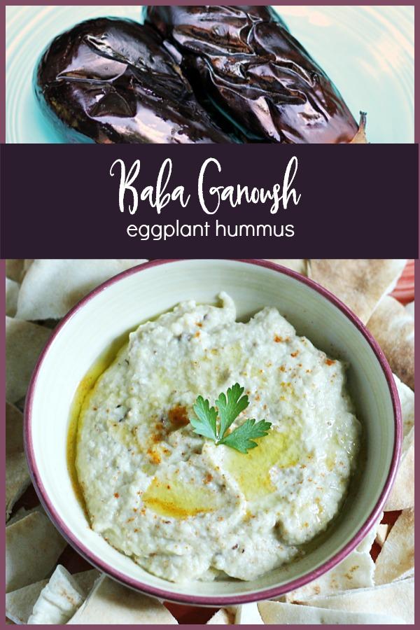 eggplant and baba ganoush dip