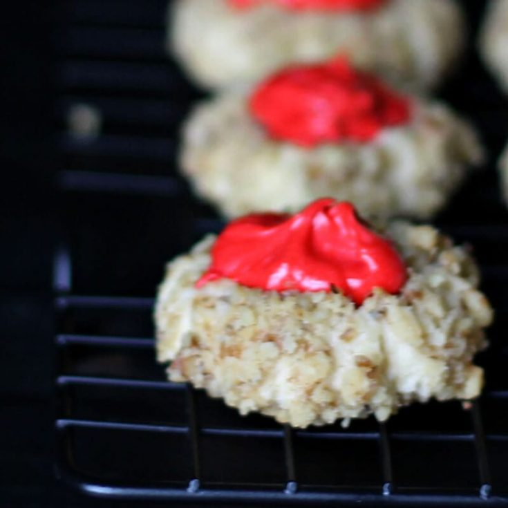 Thumbprint Cookie Recipe with Buttercream Icing