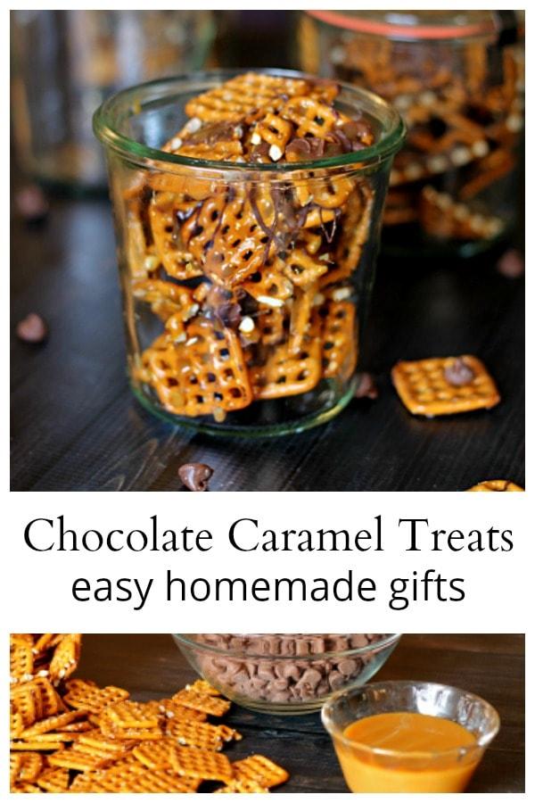 Chocolate caramel treats