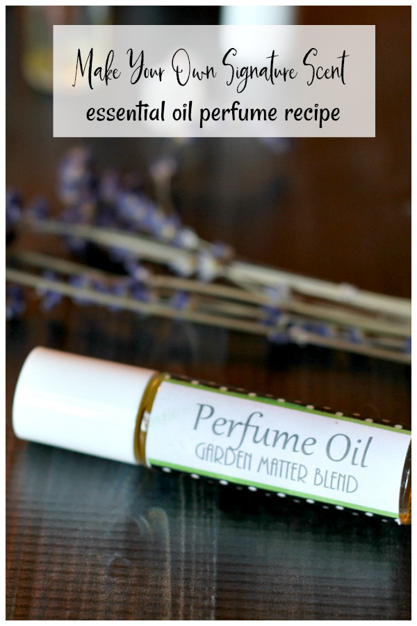DIY perfume in a roller ball bottle