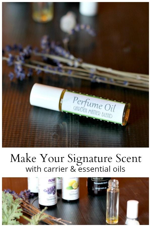 perfume oil materials