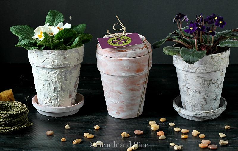 age terracotta pots 3 ways