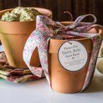 Baked Bread in Pot & Gift Pot ~ Flower Pot Herbal Beer Bread ~ gardenmatter.com