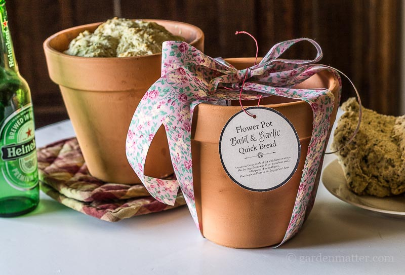 Baked Bread in Pot & Gift Pot
