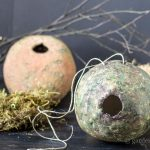 Rustic Birdhouse DIY ~ Clay Birdhouse ~ gardenmatter.com