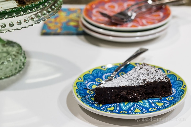 Wildly Delicious Chocolate Torte