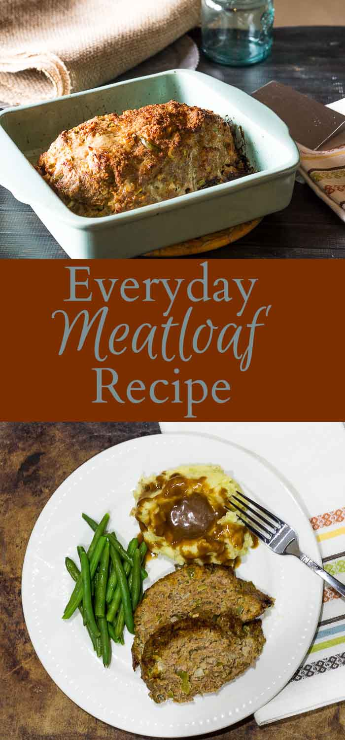 Everday Meatloaf Recipe ~ gardenmatter.com