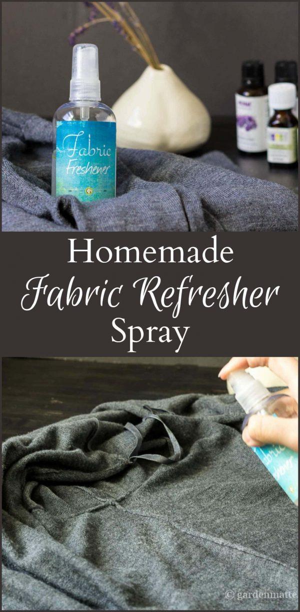 Fabric Spray Collage ~ gardenmatter.com