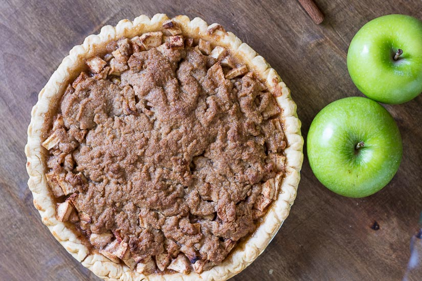 Fully Baked Pie ~ Dutch Apple Pie Recipe