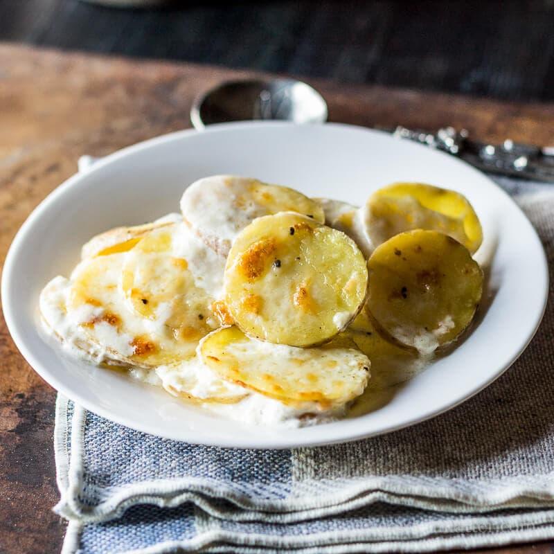 Scalloped Potato Recipe ~ gardenmatter.com
