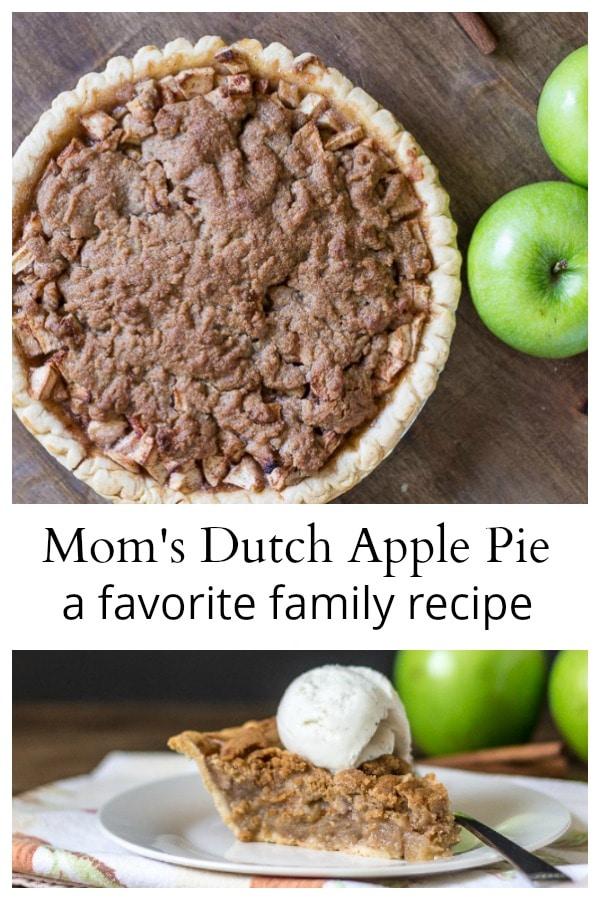 Dutch Apple Pie collage