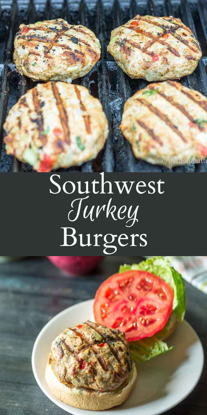 This recipe for grilled turkey burgers is easy and a healthy alternative to beef. Southwest ingredients like peppers and cumin give this dish an rich taste.