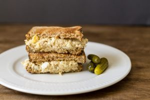 Tuna & Egg Salad Sandwich ~ Tuna Salad Recipe ~ gardenmatter.com