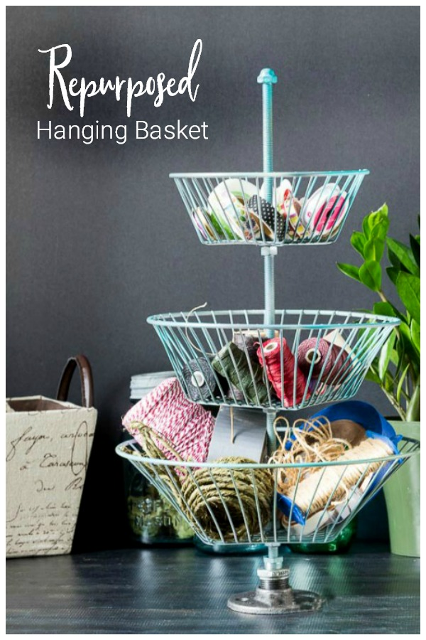 3 tiered basket stand