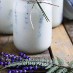 Candles with lavender ~ Press Flower Mason Jar Candles ~ gardenmatter.com