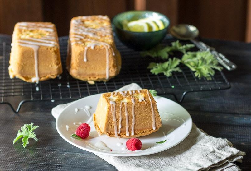 Finished Cakes ~ scented geranium cake