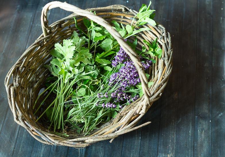 Fresh Cut Herbs ~ Floral Water ~ gardenmatter.com