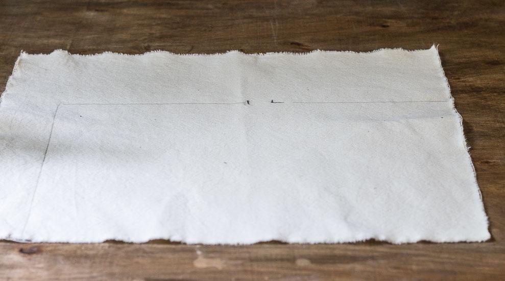 Pencil Outline ~  How To Transfer Image to Fabric ~ gardenmatter.com