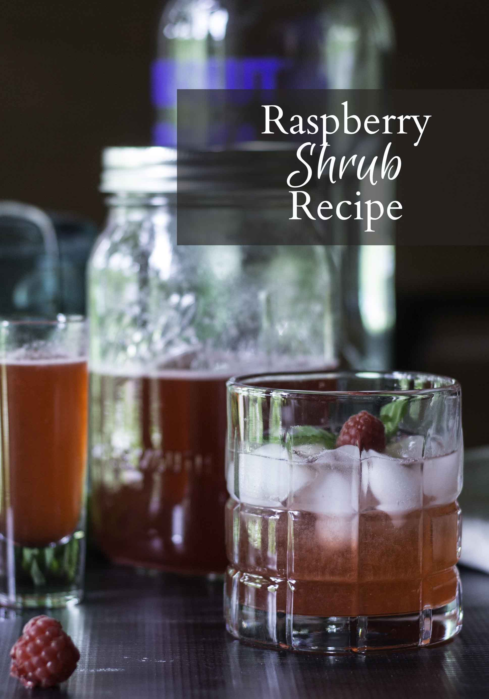 Learn how to make a drink made from fruit and vinegar with this raspberry shrub recipe. Get creative with the many possible combinations to try.