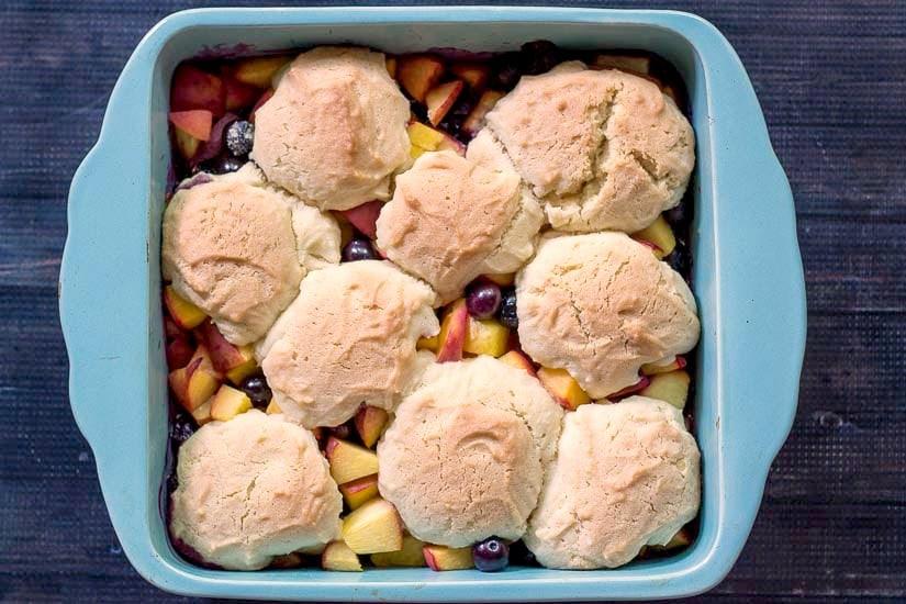 Sugar Cookie Fruit Cobbler - gardenmatter.com