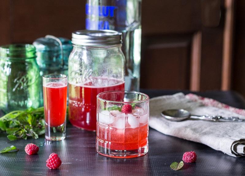 shrub cocktail wide~ raspberry shrub reicpe