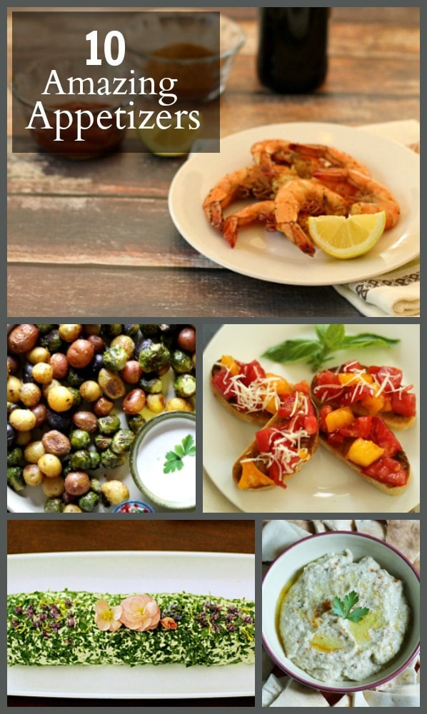 Here are 10 appetizer recipes that you can make for your next gathering. All are pretty easy to make and contain a variety of easy to find ingredients.