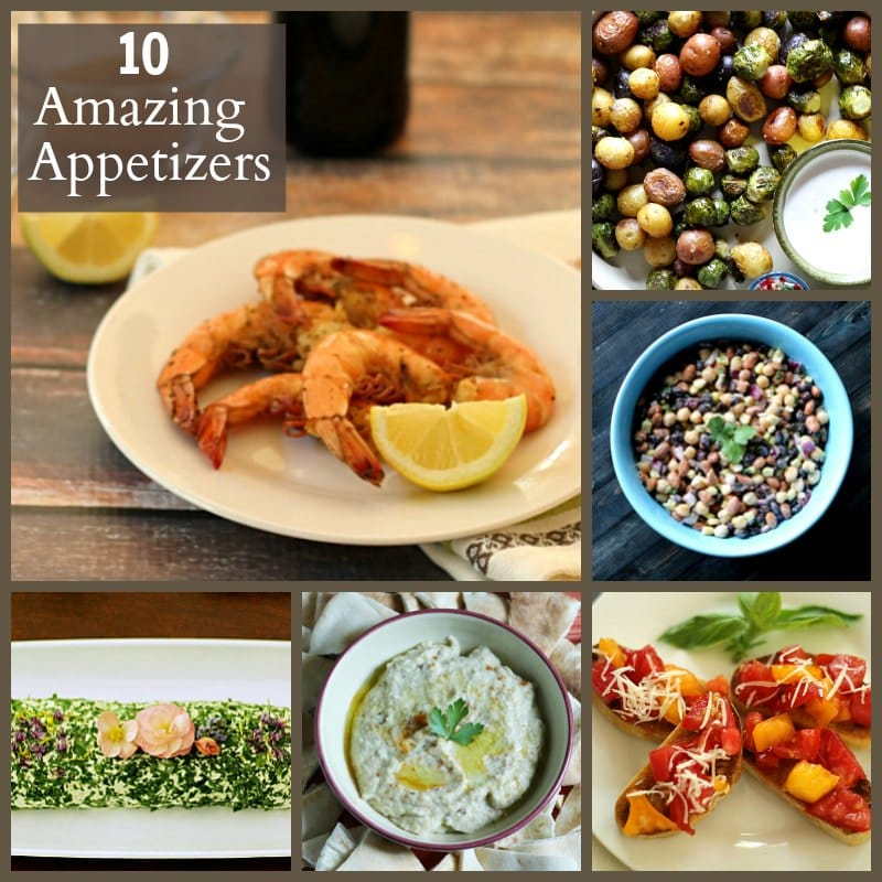 10 Amazing Appetizer Recipes