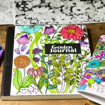 Coloring Page Journals