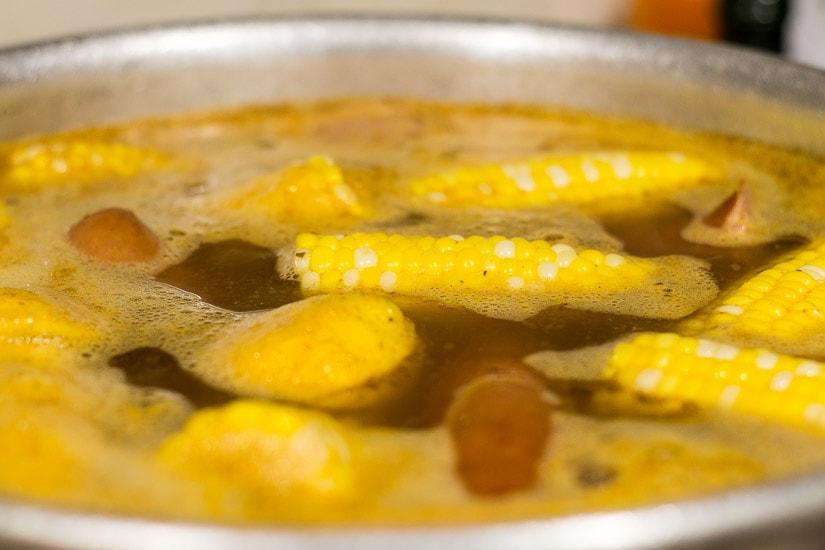 Corn-Floating-Shrimp-Boil