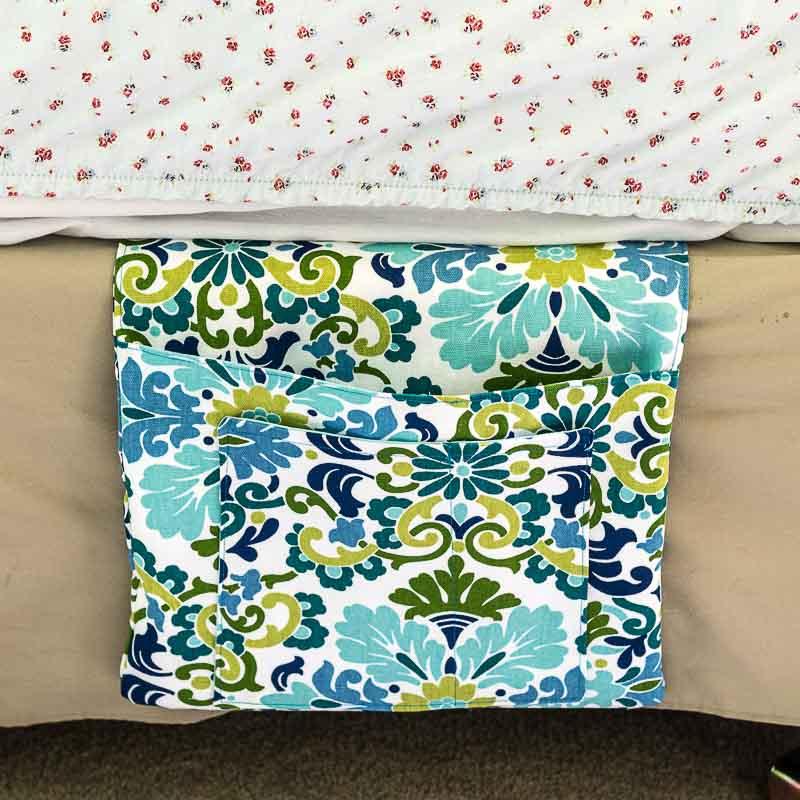 DIY Bedside Pocket Caddy