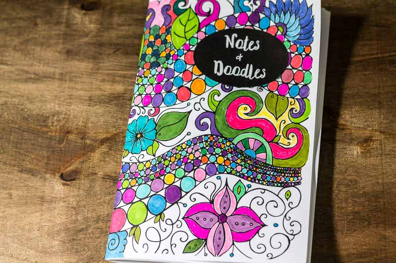 DIY Coloring Journals Booklet