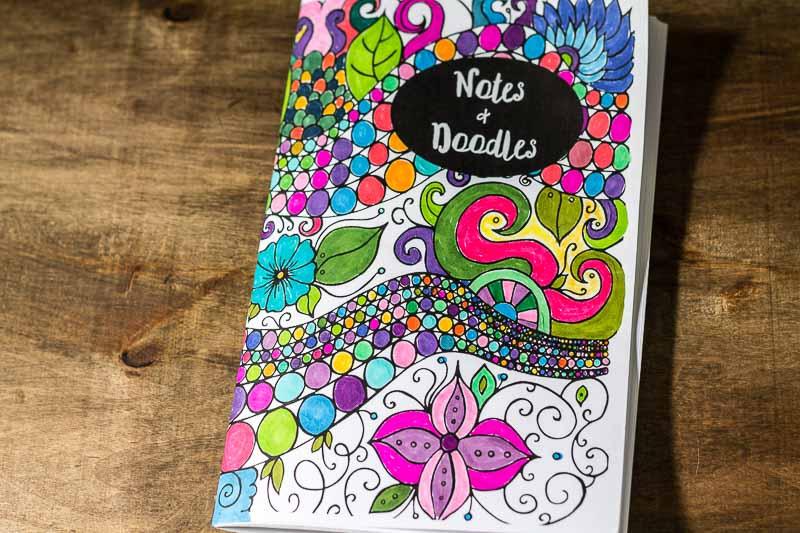 DIY Coloring Journals Booklet