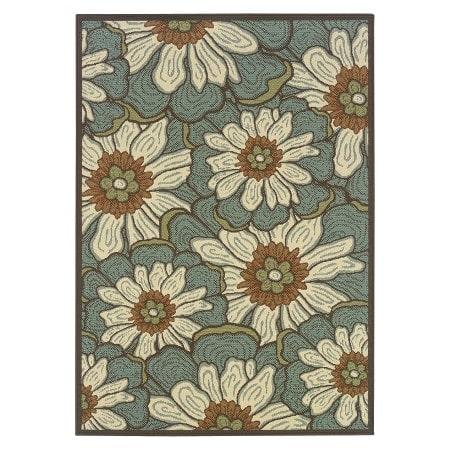 Floral-area-rug-target