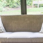 How to Make Easy Drop Cloth Cushion Covers