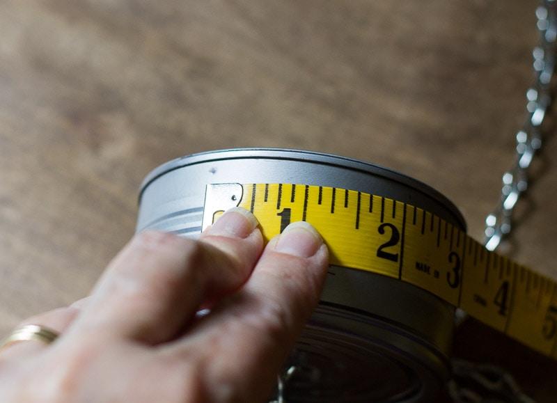 Measure and Mark Can- Seashell Windchime