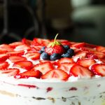 Strawberry Praline Trifle
