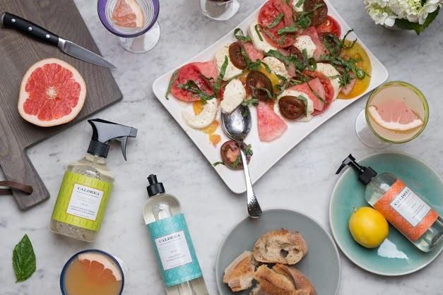 caldrea_salad_summer_entertaining - Free Caldrea Cleaning Kit