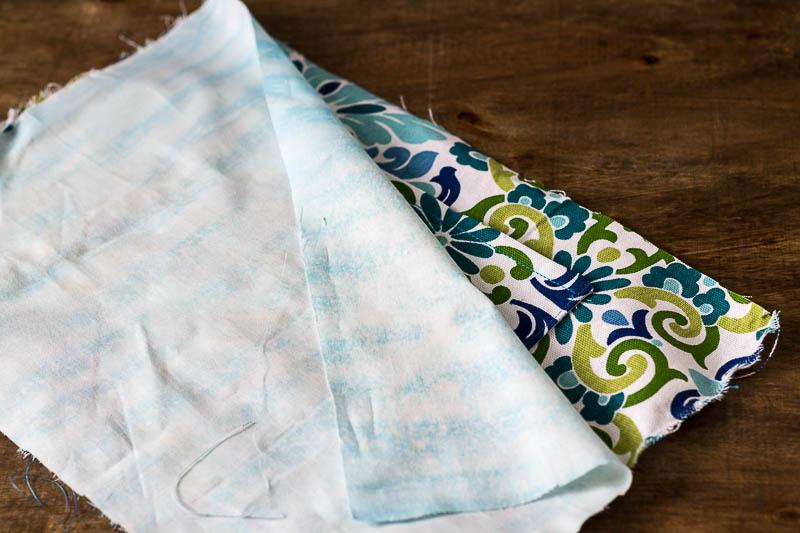 large lining piece pocket - DIY Bed Pocket Caddy