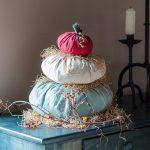 Cinderella Fabric Pumpkin Stack
