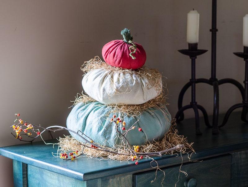 DIY Cinderella Fabric Pumpkin Craft