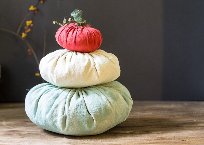 Heirloom Pumpkin Stack_