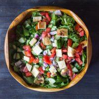Middle Eastern Bread Salad - Fattoush