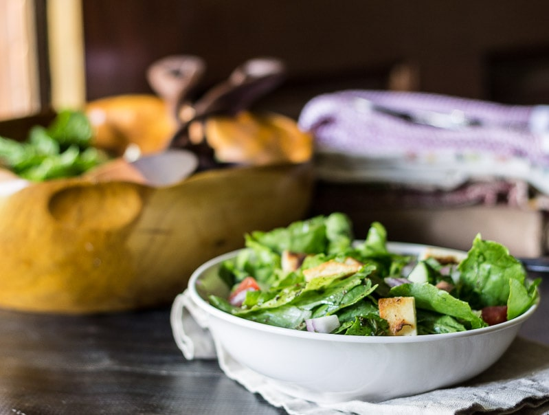 Middle Eastern Bread Salad – Fattoush