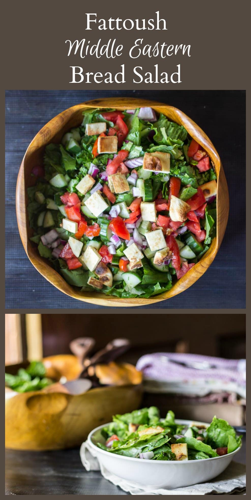 Learn about this tasty middle eastern bread salad known as Fattoush. Using a few unique ingredients making for an interesting twist on the everyday salad.